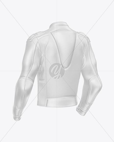 Motorcycle Racing Leather Jacket Mockup