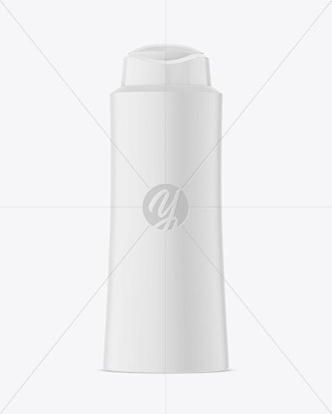 Plastic Shampoo Bottle Mockup