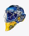 Hockey Goalkeeper Helmet Mockup