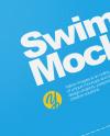 Swimming Cap Mockup