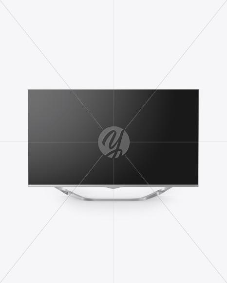 Metallic TV Mockup