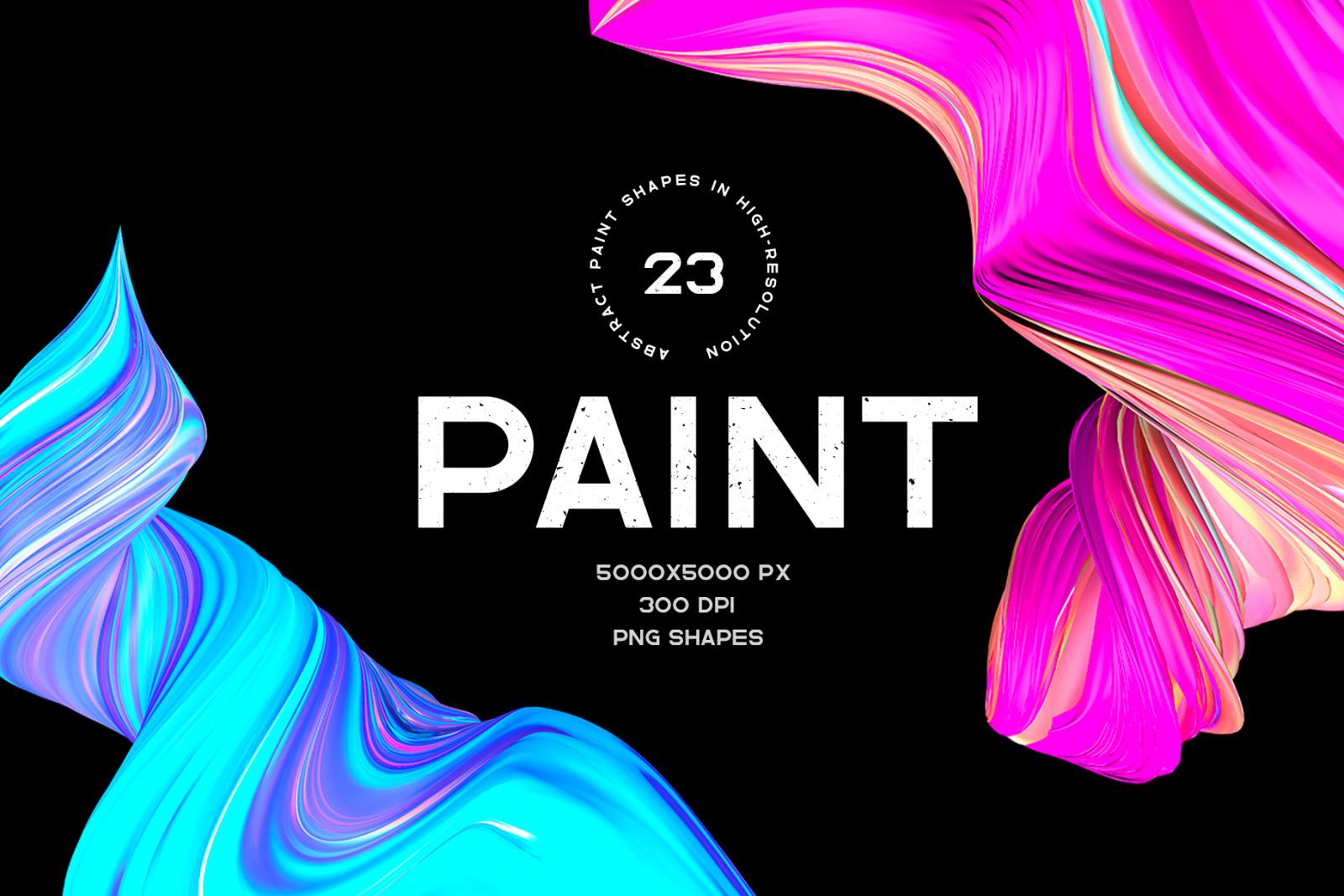 Paint - 23 shapes