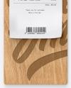 Wooden Clipboard w/ Receipt Mockup