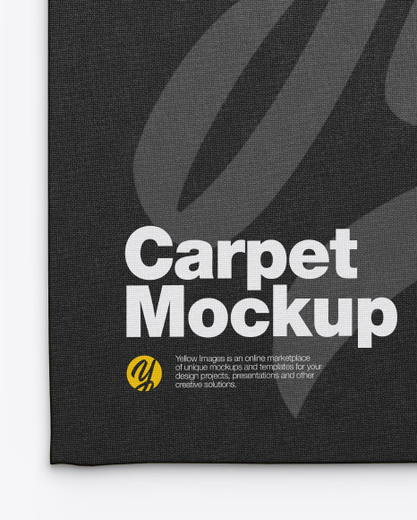 Fabric Carpet Mockup