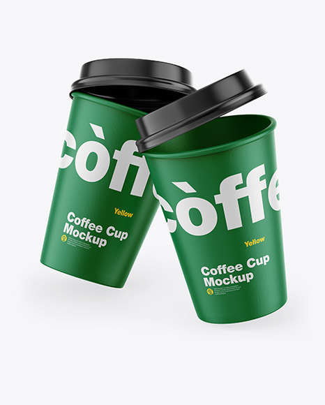 Download Paper Coffee Cup PSD Mockup