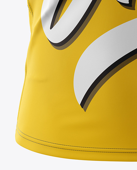 Download Sleeveless Jersey Mockup Yellow Images