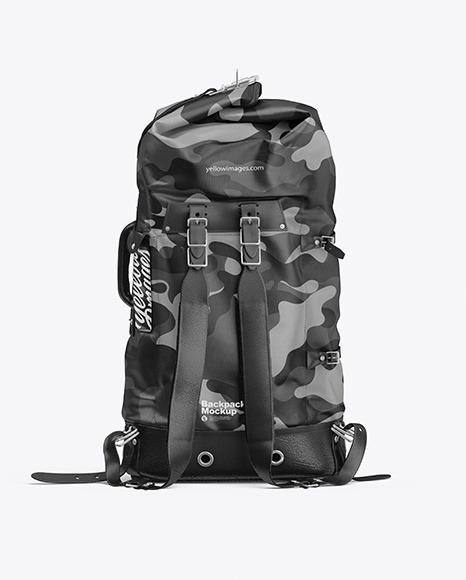 Download Backpack PSD Mockup