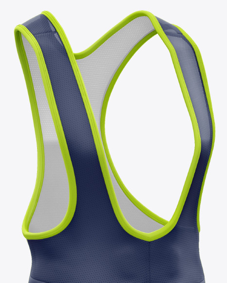 Men's Cycling Bib Mockup