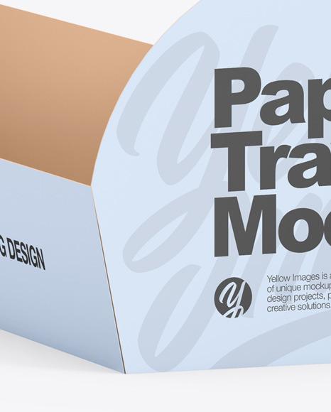 Paper Tray Mockup