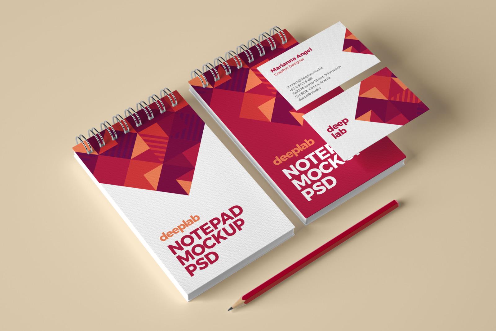 Elegant Stationery Branding PSD Mockup