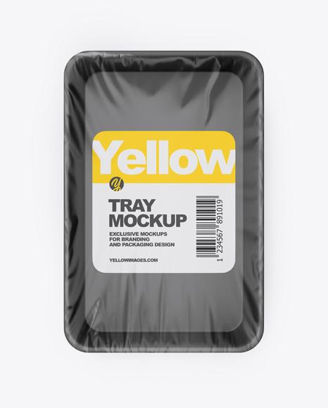 Download Plastic Tray PSD Mockup