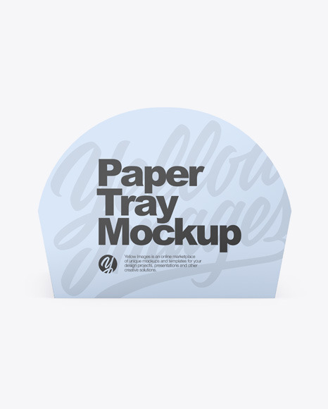 Download Paper Tray PSD Mockup