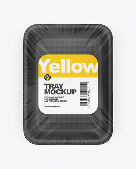 Download Food Tray PSD Mockup