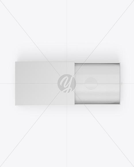 Opened Gift Paper Box Mockup