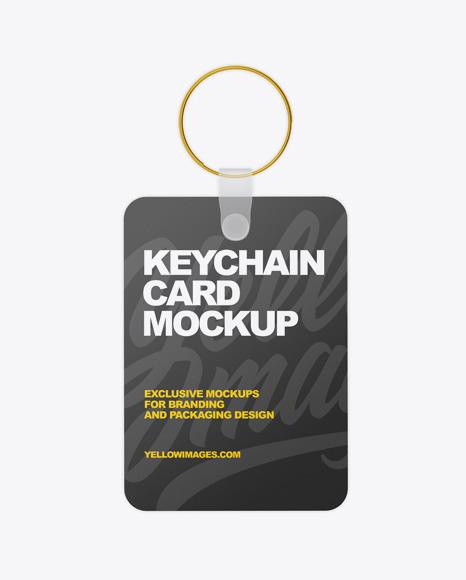 Download Keychain Card PSD Mockup