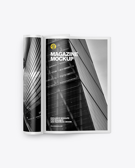 Download A4 Magazine PSD Mockup