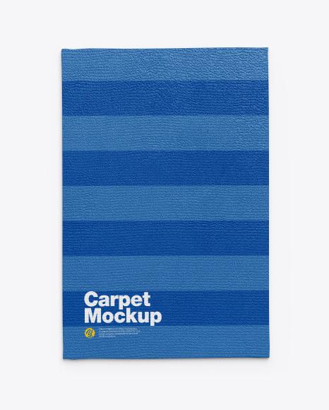 Download Fleece Carpet PSD Mockup