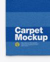 Fleece Carpet Mockup