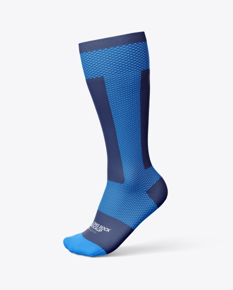 Compression Long Sock Mockup