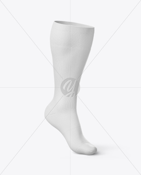 Compression Long Sock Mockup