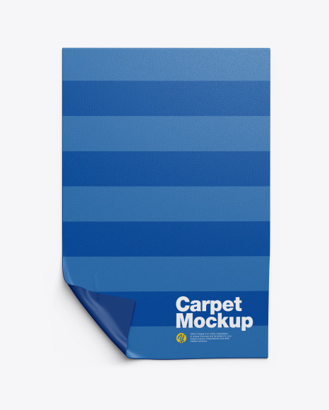 Carpet Mockup In Indoor Advertising Mockups On Yellow Images