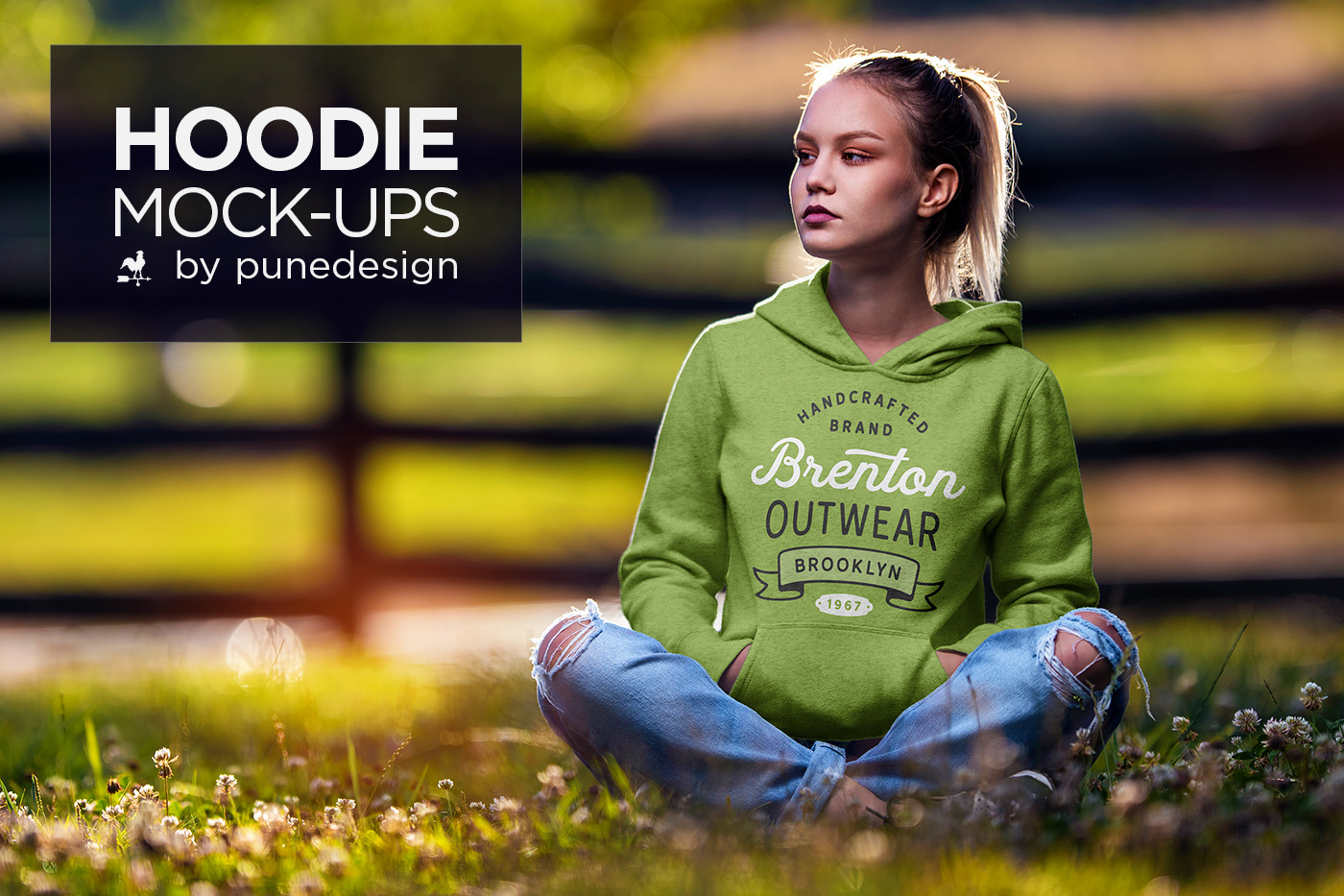 Hoodie Mock Up Vol 3 In Apparel Mockups On Yellow Images
