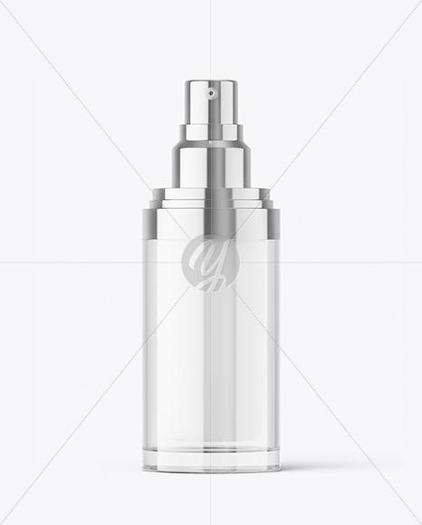 Double-Wall Spray Bottle Mockup