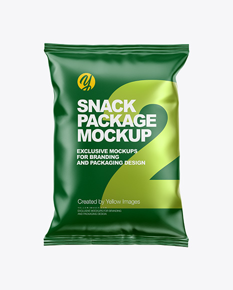Download Paper Snack Package PSD Mockup