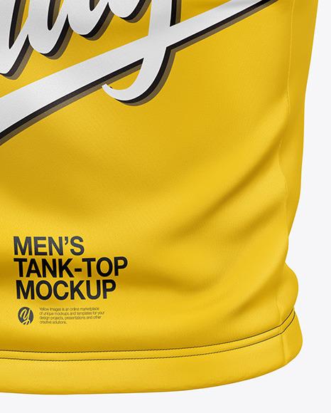 Men's Tank Top Mockup