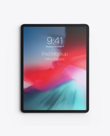 Download Apple iPad Pro 2020 129 PSD Mockup