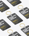 Keychain Card Mockup