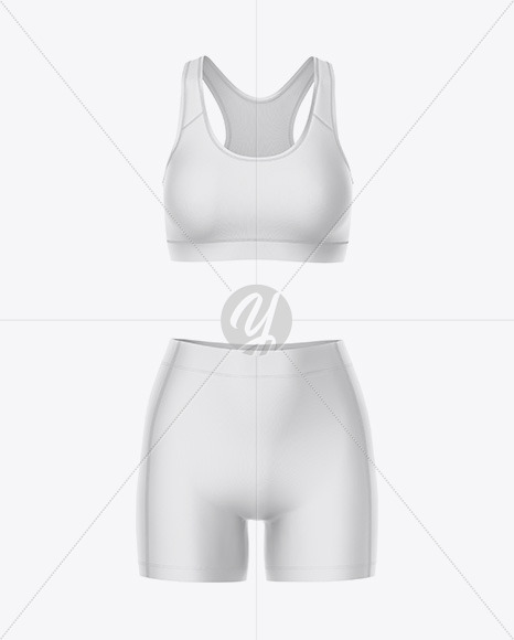 Women's Sport Kit Mockup - Front View