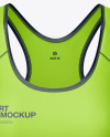 Women's Sport Kit Mockup - Front View