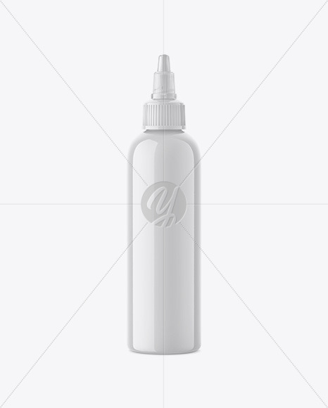 4 Oz Plastic Dropper Bottle Mockup