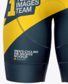 Men's Cycling Bib Shorts Mockup