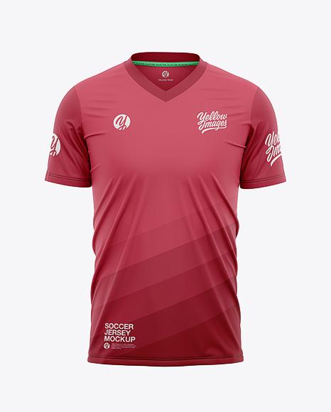 V-Neck Soccer Jersey T-Shirt