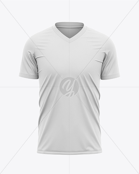 Download Mens Rugby Kit With V Neck Jersey Mockup Back View Yellowimages