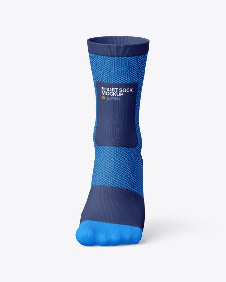Compression Short Sock Mockup