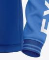 Men's Long Sleeve Polo Raglan Mockup