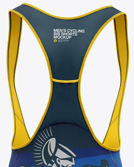 Download Mens Cycling Bib Shorts Mockup Yellowimages