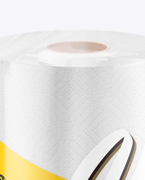 Wrapping Paper Roll Mockup Free