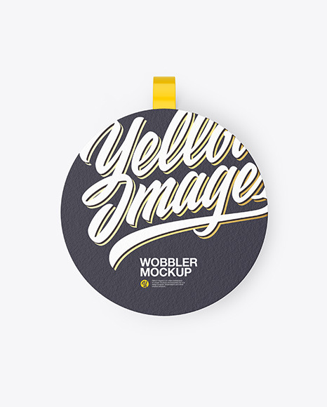 Textured Wobbler Mockup