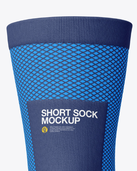 Compression Short Sock Mockup