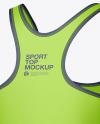 Women's Sport Kit Mockup - Back Half Side View