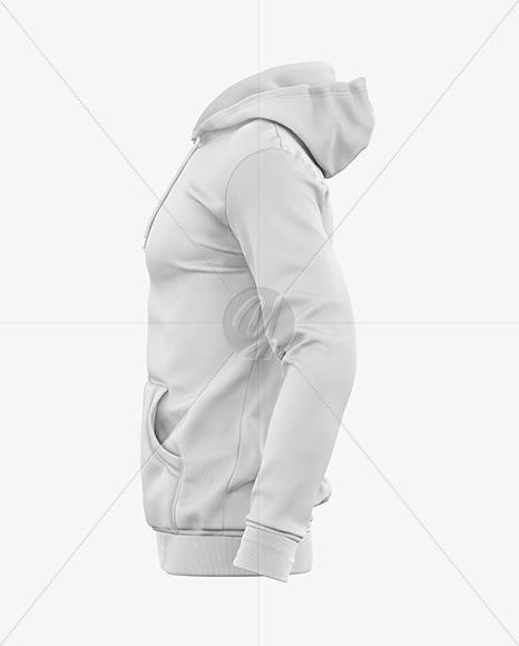 Download Mens Full Zip Hooded Sweatshirt Mockup Yellowimages
