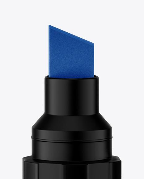 Matte Permanent Marker Mockup
