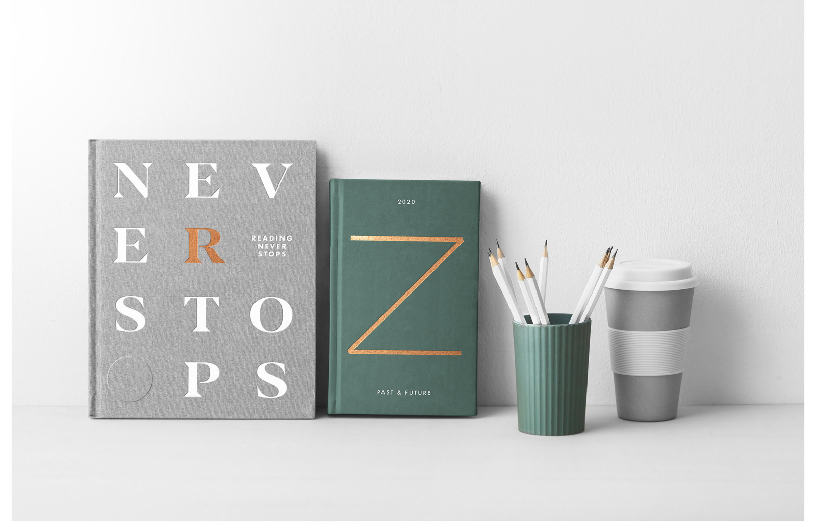 Book Cover Mockups - Hardcover