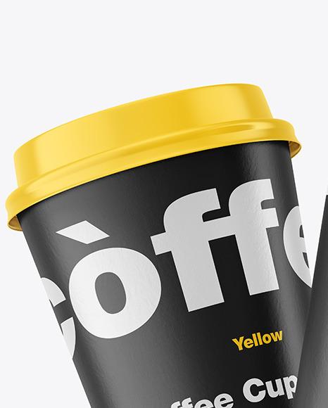Paper Coffee Cups Mockup