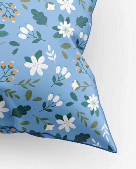 Matte Pillow Mockup