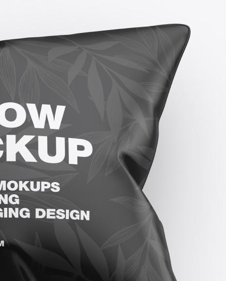 Glossy Pillow Mockup